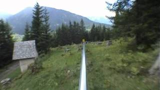 Mieders Alpine Coaster (with No Brakes!!)
