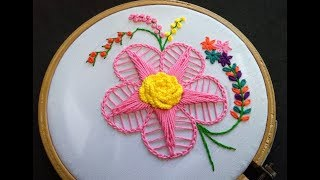 Hand Embroidery - Twisted Chain Stitch