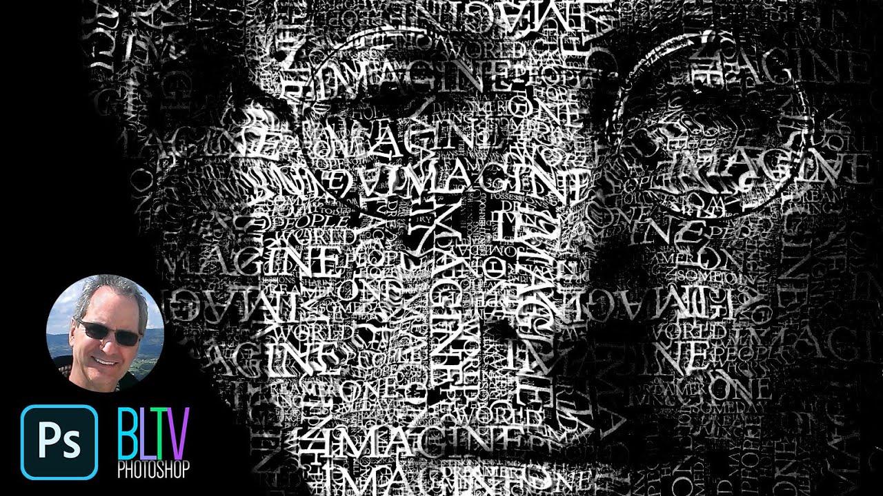 Tutorial Transform Face Powerful Text Portrait