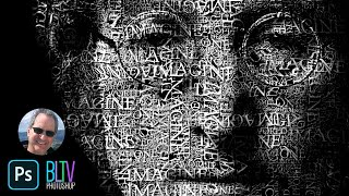 Photoshop Tutorial: How to Transform a Face into a Powerful Text Portrait