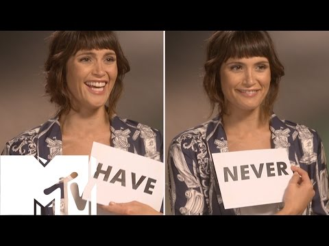 Gemma Arterton Plays Never Have I Ever!  MTV