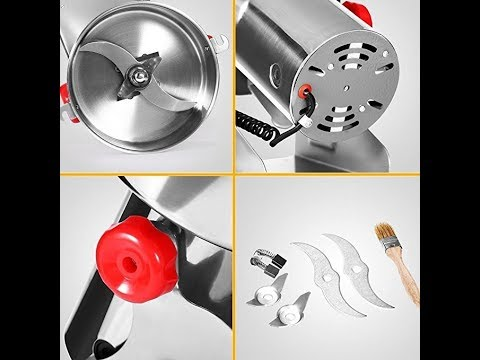 Suteck 500g Electric Grain Grinder Mill Powder Machine High Speed Commercial Swing Type