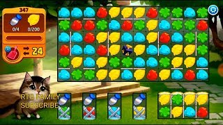 Lets play Meow match level 347 HARD LEVEL HD 1080P