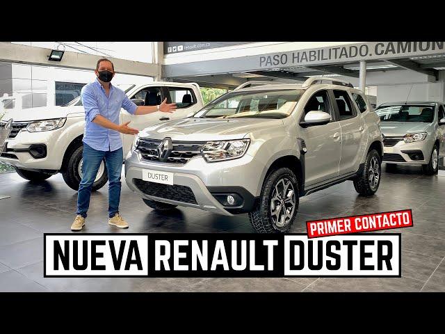 Renault Duster Turbo 🔥 Así es la nueva generación 🔥 Primer Contacto