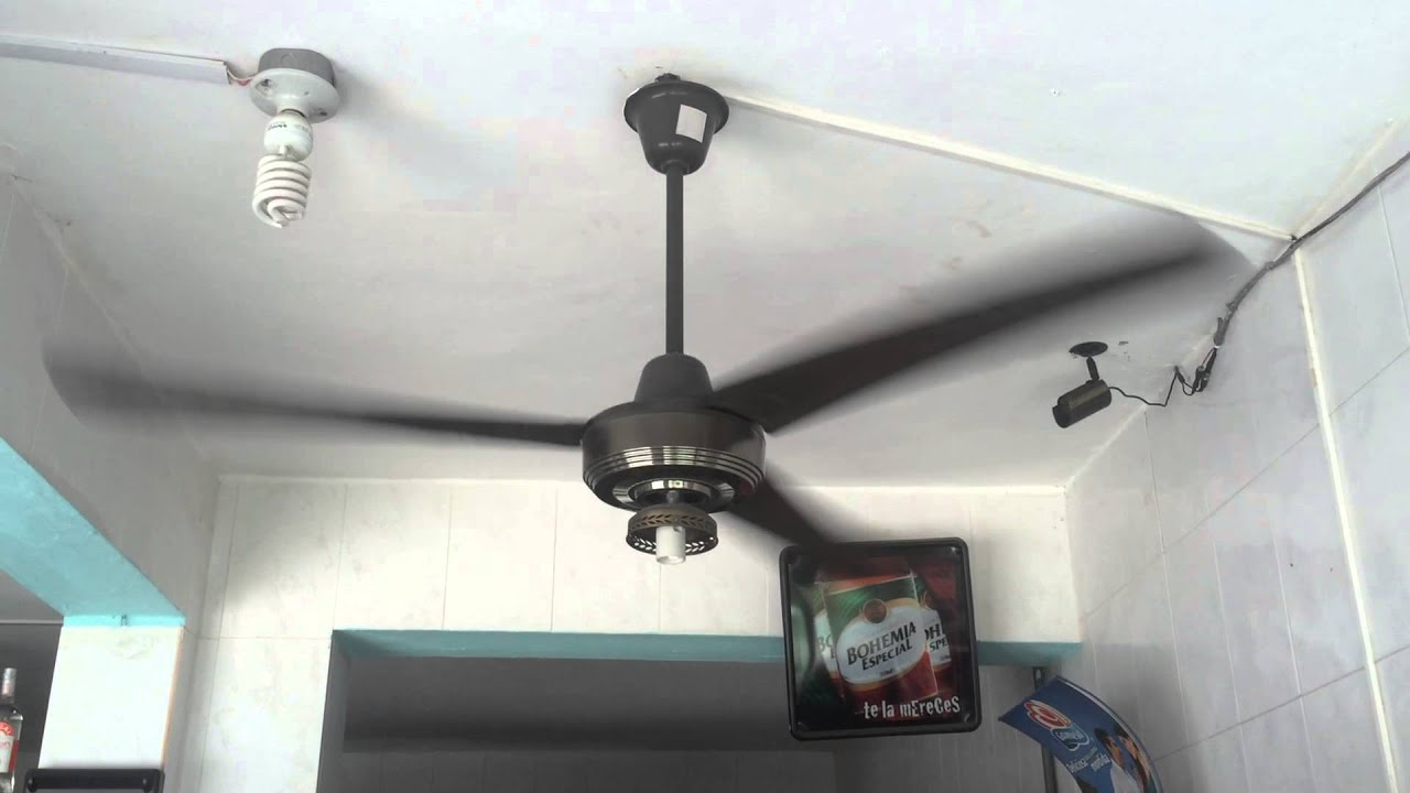KDK industrial ceiling fan and a few wall fans at snack shop
