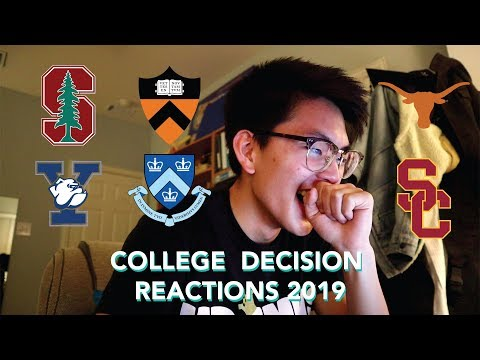 college-decision-reactions-2019:-princeton,-yale,-columbia,-stanford,-usc,-&-ut-austin