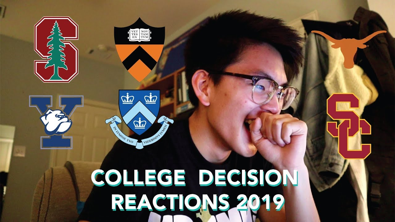 College reaction videos on YouTube invite strangers to watch