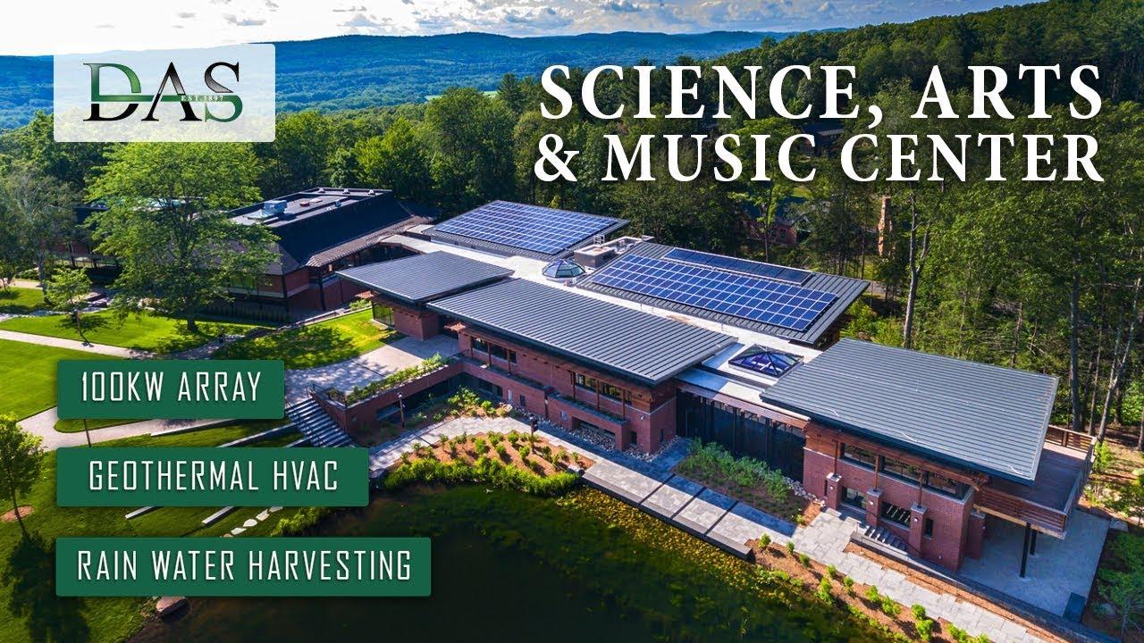 Science, Arts & Music Center at Eaglebrook - Built By DAS