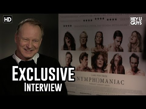 Stellan Skarsgård Interview - Nymphomaniac - YouTube