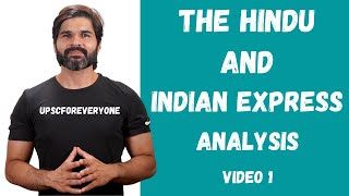 The Hindu and Indian Express analysis