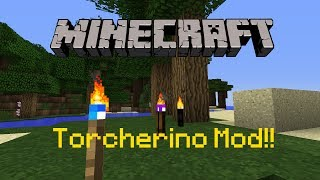 Minecraft 1.11.2 : Torcherino Mod Review!! | Boost your farms!!