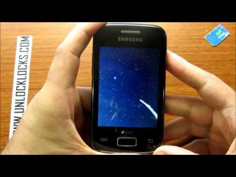 How To Unlock Samsung Galaxy Y DUOS GT-S6102 and GT-S6102B By Unlock Code From UnlockLocks.COM