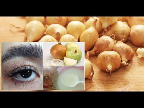 Baixar ไม่ต้องพึ่งดินสอเขียนคิ้วอีกต่อไป สูตรคิ้วหนาดกดำ(thicker eyebrows recipe) ด้วยหัวหอม(onion)