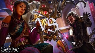 mtg sealed gameplay r w vehicles vs u b aetherborn touch