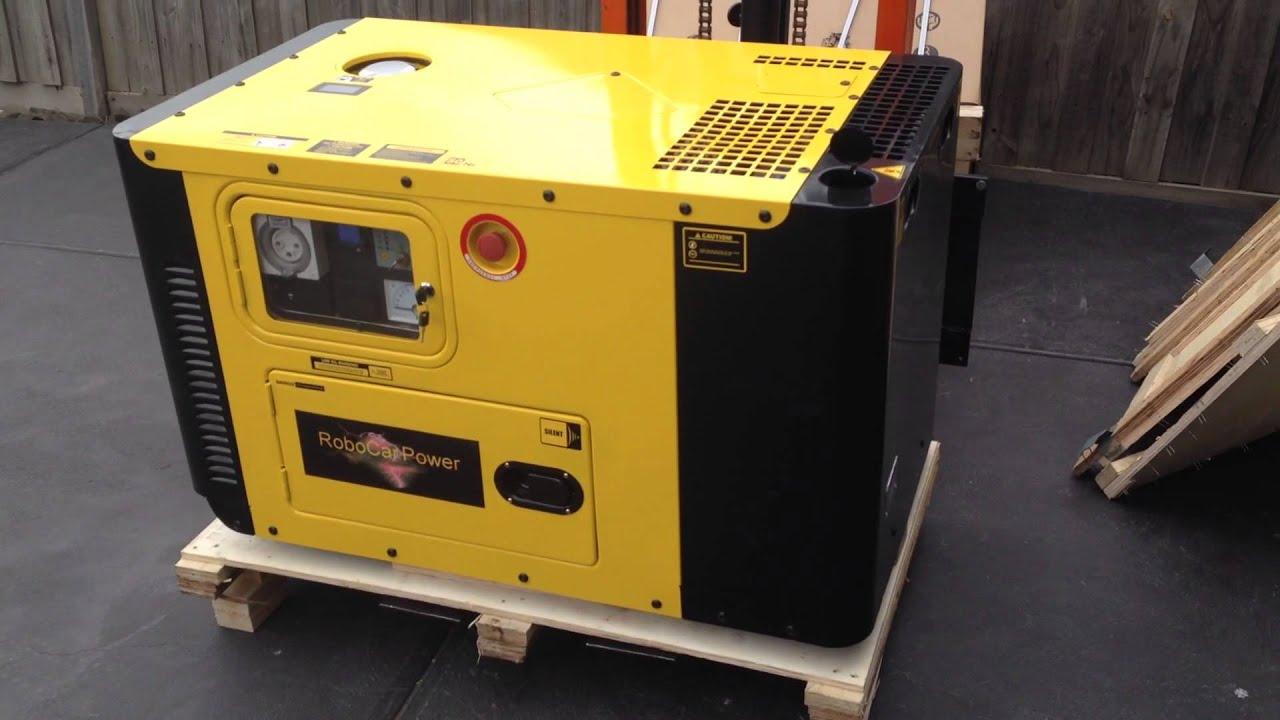 RoboCar Power 9 KW 2 cylinder sel generator