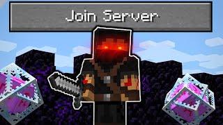 So I found an illegal minecraft server...
