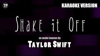 Shake It Off - Taylor Swift | Karaoke LYRICS