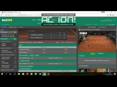 VENUS WILLIAMS (9)-YAROSLAVA SVHEDOVA (LIVE) WTA ROME