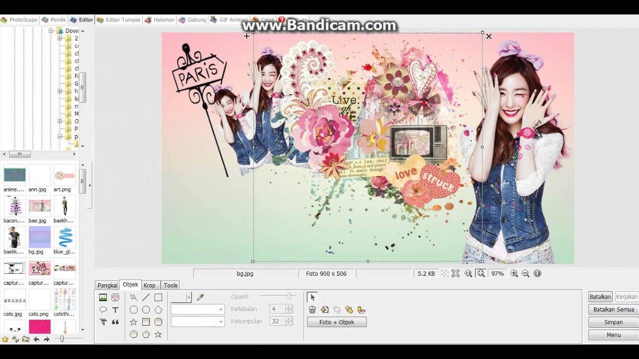 Cara edit foto photoscape 47