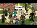 Monster School: FUNNY ZOMBIE APOCALYPSE CHALLENGE!! - Minecraft Animation