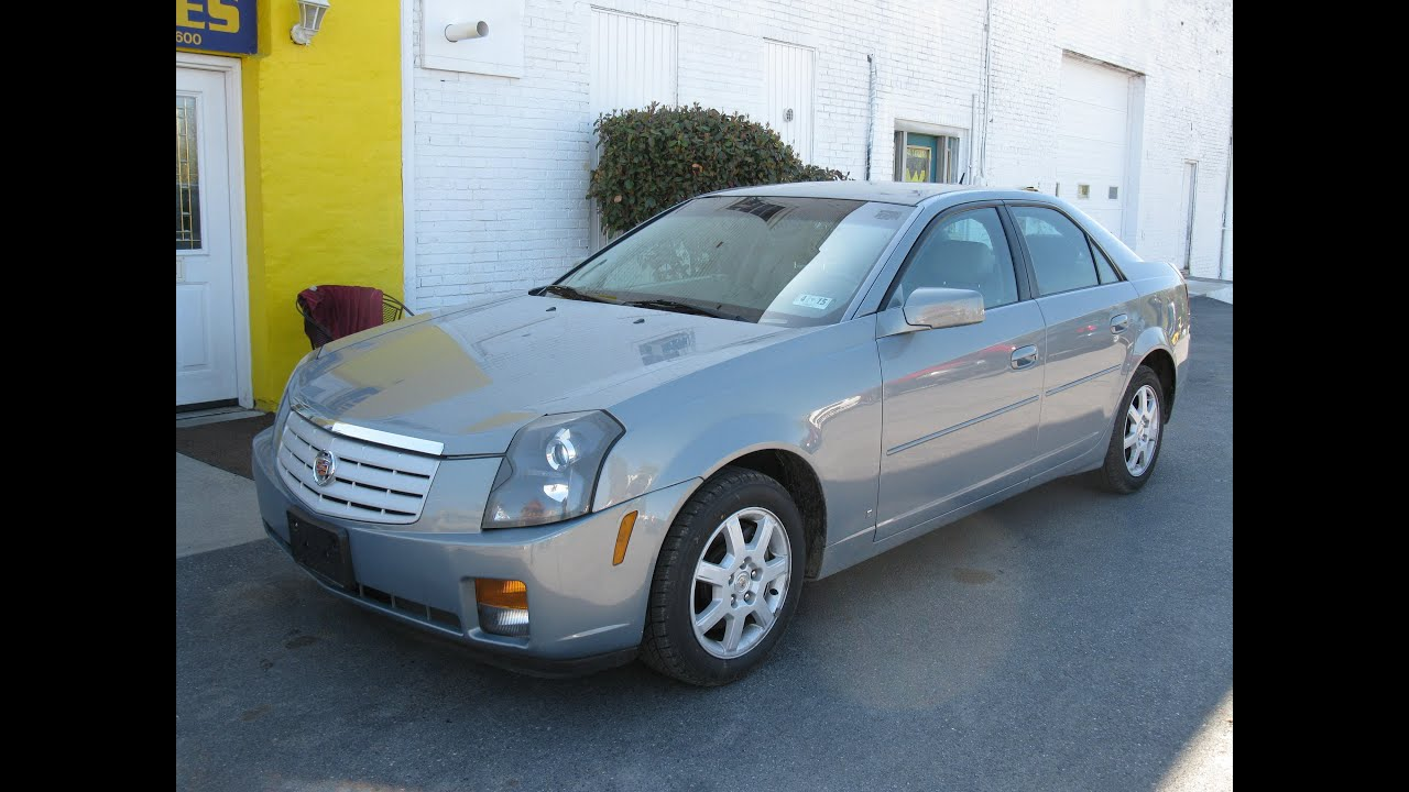 2007 Cadillac CTS Start Up and Tour - YouTube