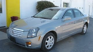 2007 Cadillac CTS Start Up and Tour