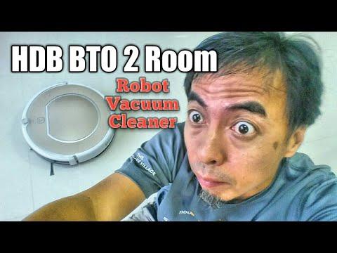 HDB BTO 2 Room Robot Vacuum Cleaner