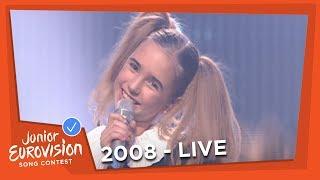 Egle Jurgaityte - Laiminga Diena - Lithuania - 2008 Junior Eurovision Song Contest