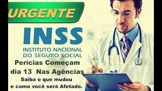 Perícia médica do INSS voltarão a ser feitas a partir do dia 13; veja como agendar e o que Muda.