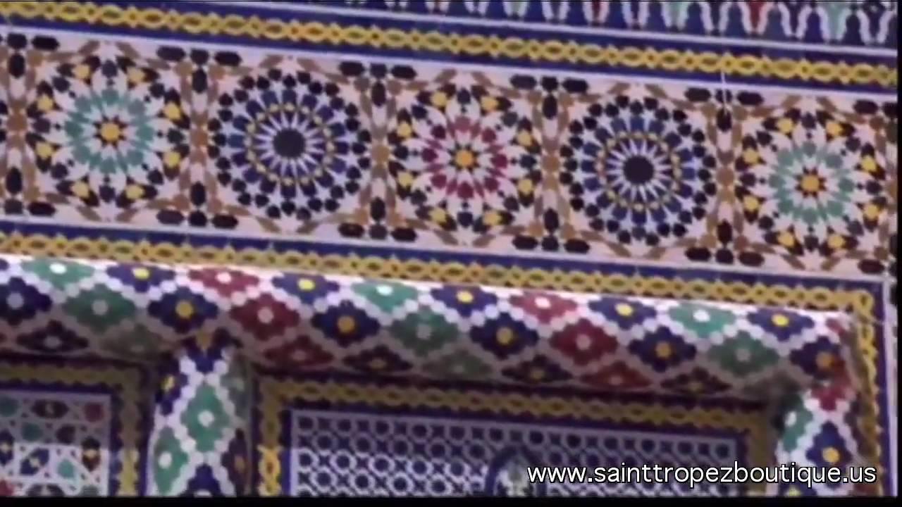 Zellige tile glazed moroccan ceramic tiles zillij moorish zellige tile glazed moroccan ceramic tiles zillij moorish tile islamic tiles moroccan tile youtube dailygadgetfo Gallery