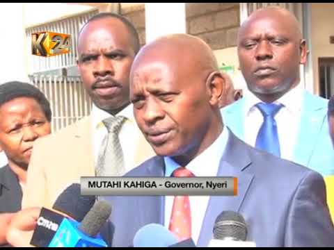 Mystery after DPP stops prosecution of Late Nyeri governor's driver