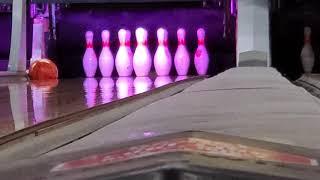 Pretty cool bowling trick shot (Again).