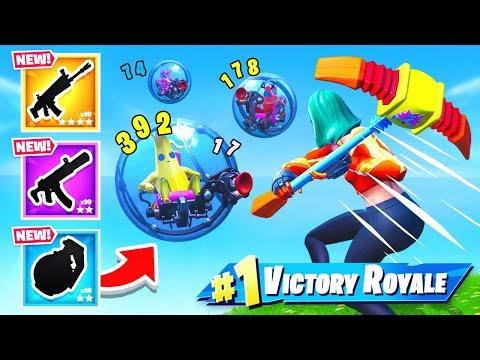 RANDOM BALLER Loot CHOOSER *NEW* Game Mode in Fortnite Battle Royale