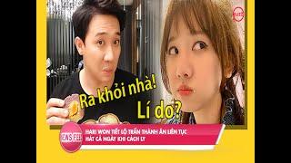 Ở nhà tránh dịch, Hari Won tiết lộ Trấn Thành ăn liên tục, hát cả ngày l Buzz TV