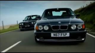 Top Gear BMW M3 E30 VS BMW M5 E34  С чего всё начиналось