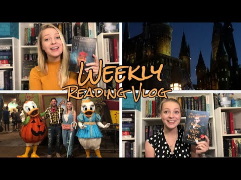 Disney and Universal Trip, Book Mail, and Audio Books! || Weekly Reading Vlog || September 2-22