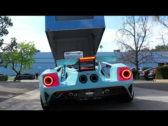 Ford GT 2019 Heritage Edition Carbon Fiber Series Full Car Clear Bra Wrap