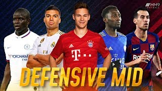 Top 10 Defensive Midfielders in Football 2020
