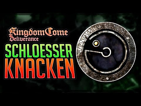SCHLÖSSER KNACKEN - Kingdom Come Deliverance Tipps deutsch - Lockpick