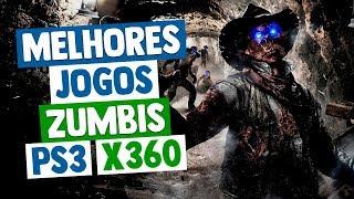 Melhores Jogos de ZUMBIS XBOX 360 & PS3 - ATUALIZADA