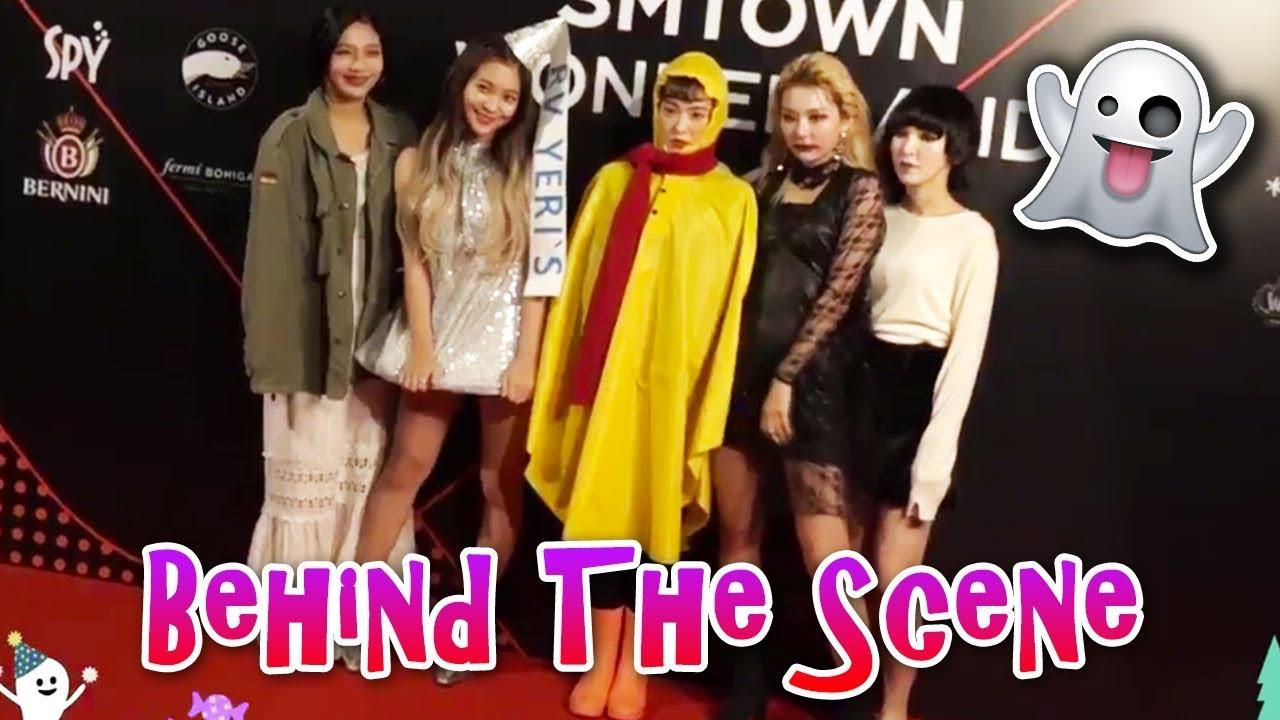 SMTOWN WONDERLAND 2018 - Red Velvet (Behind The Scene) | 레드벨벳 SM Halloween  Party