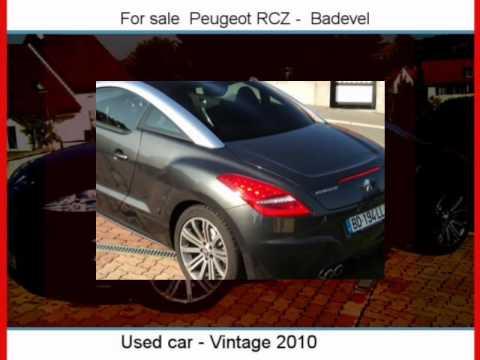 Sale One Peugeot RCZ  Badevel  Doubs