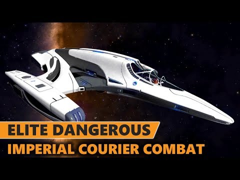 Elite Dangerous - Tuning and Fighting in the Imperial Courier