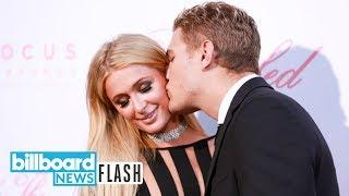 Paris Hilton & Chris Zylka Announce Engagement | Billboard News Flash