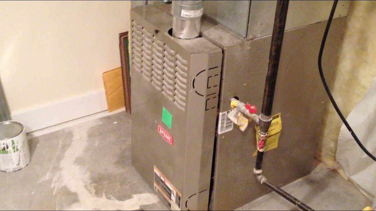 how to replace a blower motor furnace ac hvac repair [ 1280 x 720 Pixel ]