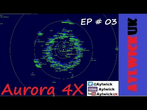 Aurora 4X EP03 First Survey ship Surveying