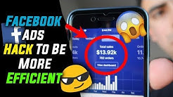 Facebook Ads Hack To Be More Efficient With Your Ads (Beginner And Advanced)