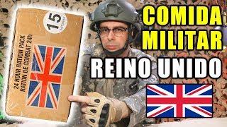Probando Comida Militar de REINO UNIDO | Ración 24 horas