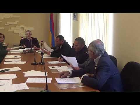 Սևան համայնքի ավագանու նիստ` 02.12.2019