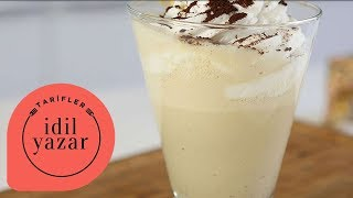 Tiramisu Milkshake Nasıl Yapılır ? - İdil Yazar - Yemek Tarifleri